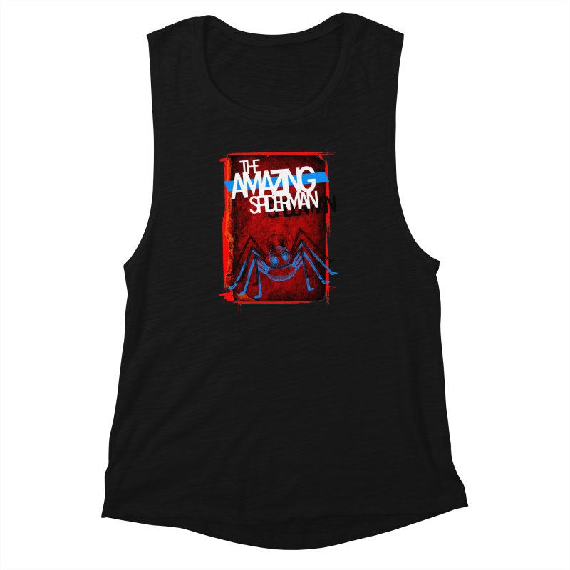 The Amazing Spider-Man!  Women's Muscle Tank by Turkeylegsray's Artist Shop