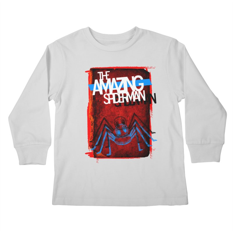 The Amazing Spider-Man!  Kids Longsleeve T-Shirt by Turkeylegsray's Artist Shop