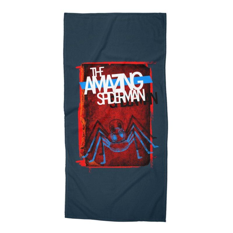 The Amazing Spider-Man!  Accessories Beach Towel by Turkeylegsray's Artist Shop