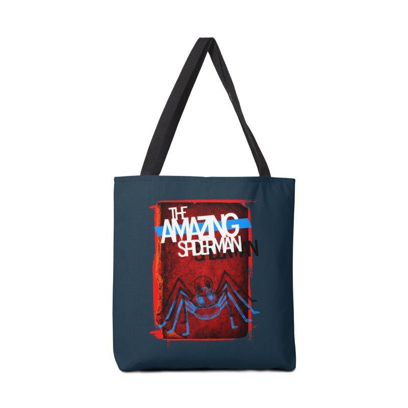 The Amazing Spider-Man!  Accessories Bag by Turkeylegsray's Artist Shop