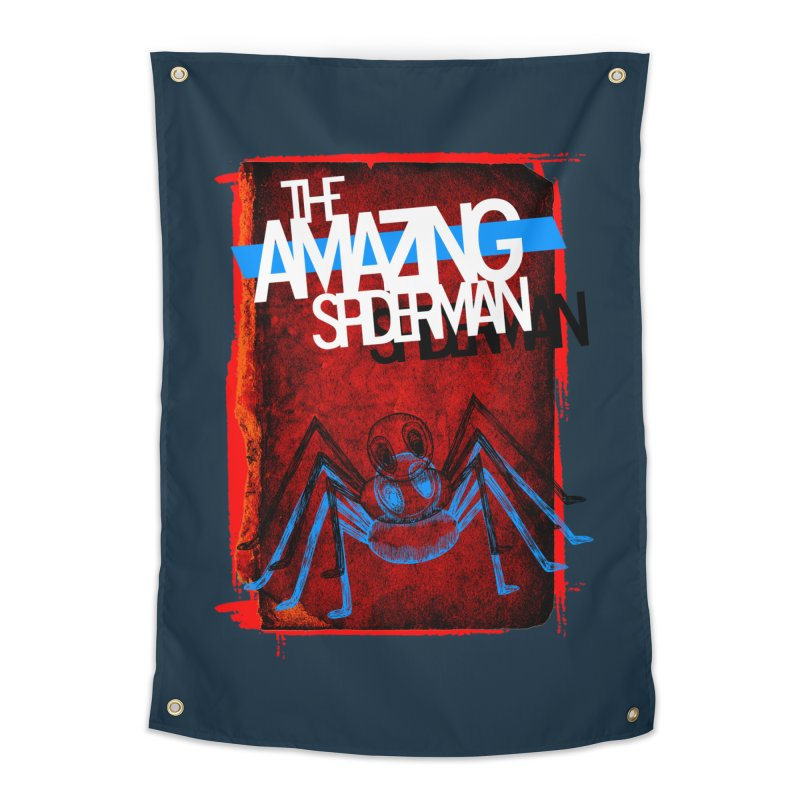 The Amazing Spider-Man!  Home Tapestry by Turkeylegsray's Artist Shop
