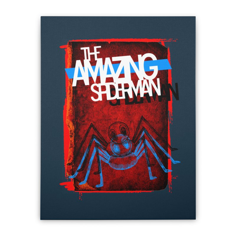 The Amazing Spider-Man!  Home Stretched Canvas by Turkeylegsray's Artist Shop