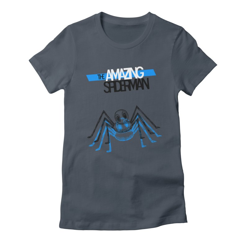 The Amazing Spider-Man Sans Background!  Women's Fitted T-Shirt by Turkeylegsray's Artist Shop