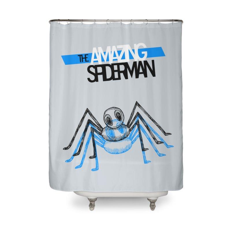 The Amazing Spider-Man Sans Background!  Home Shower Curtain by Turkeylegsray's Artist Shop