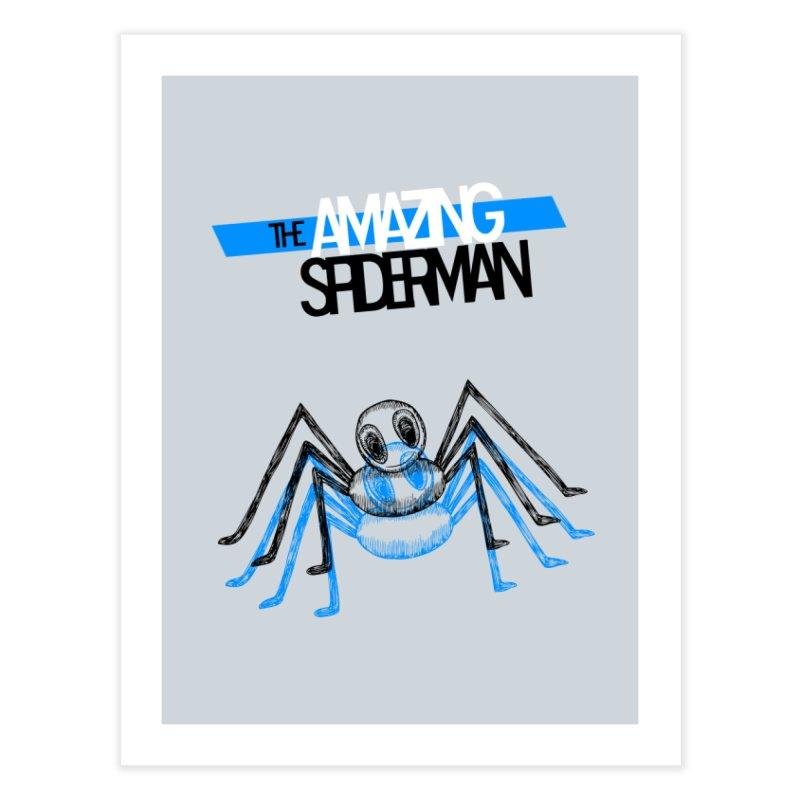 The Amazing Spider-Man Sans Background!  Home Fine Art Print by Turkeylegsray's Artist Shop