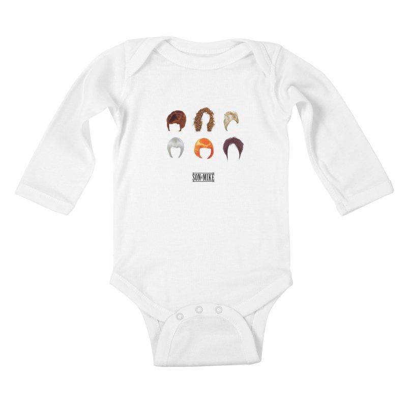 SOM Wigs Kids Baby Longsleeve Bodysuit by Turkeylegsray's Artist Shop