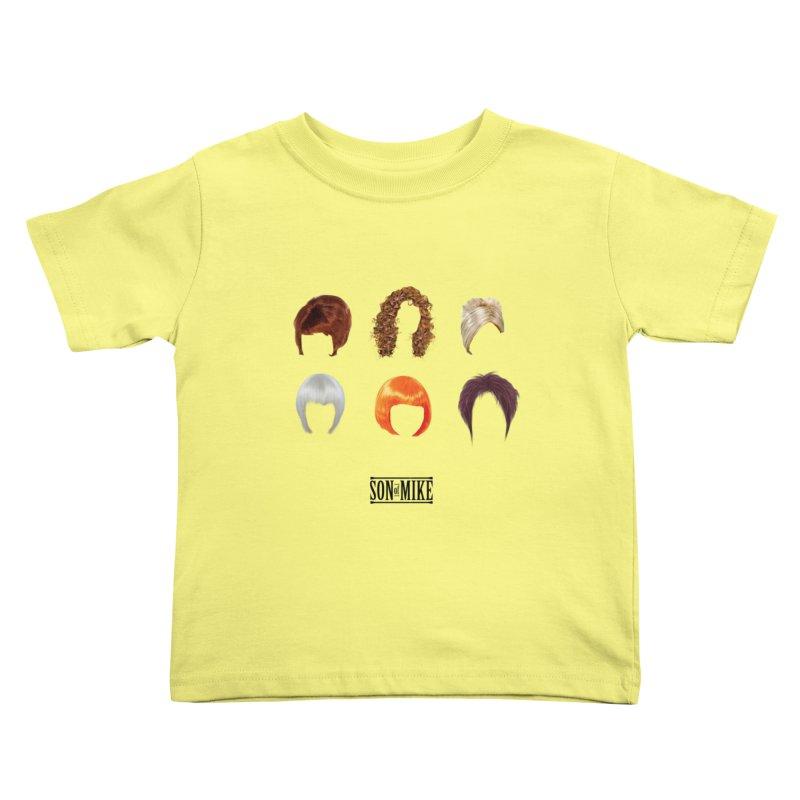 SOM Wigs Kids Toddler T-Shirt by Turkeylegsray's Artist Shop