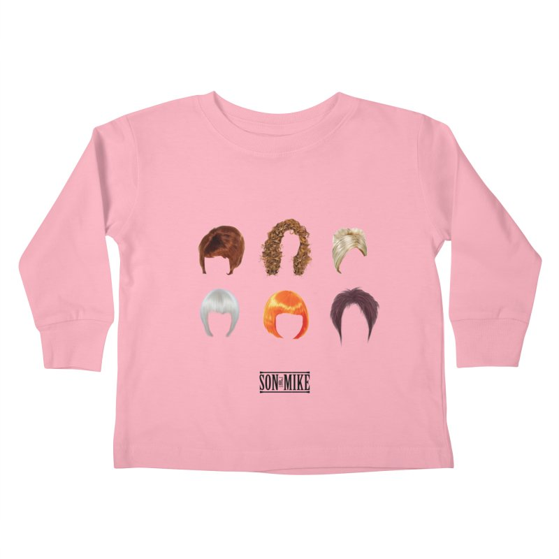 SOM Wigs Kids Toddler Longsleeve T-Shirt by Turkeylegsray's Artist Shop