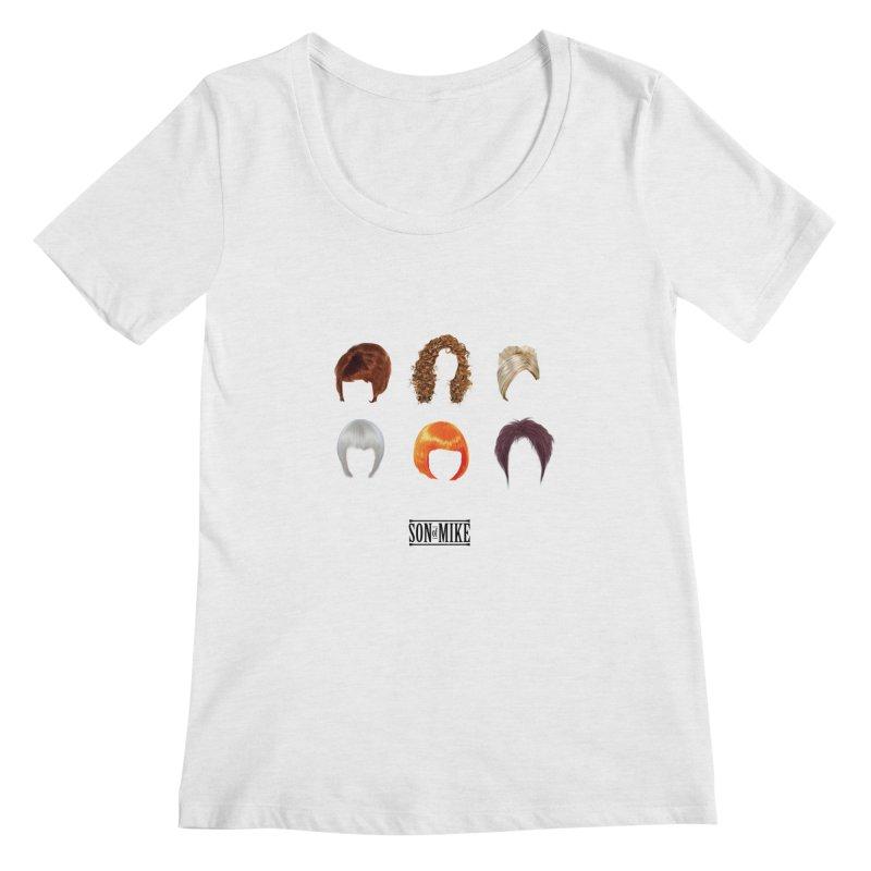 SOM Wigs Women's Scoopneck by Turkeylegsray's Artist Shop