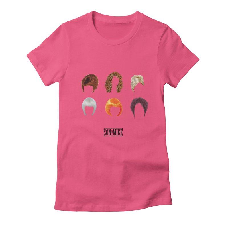 SOM Wigs Women's Fitted T-Shirt by Turkeylegsray's Artist Shop