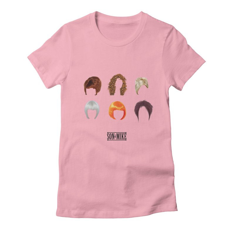 SOM Wigs Women's Fitted T-Shirt by Turkeylegsray's Artist Shop