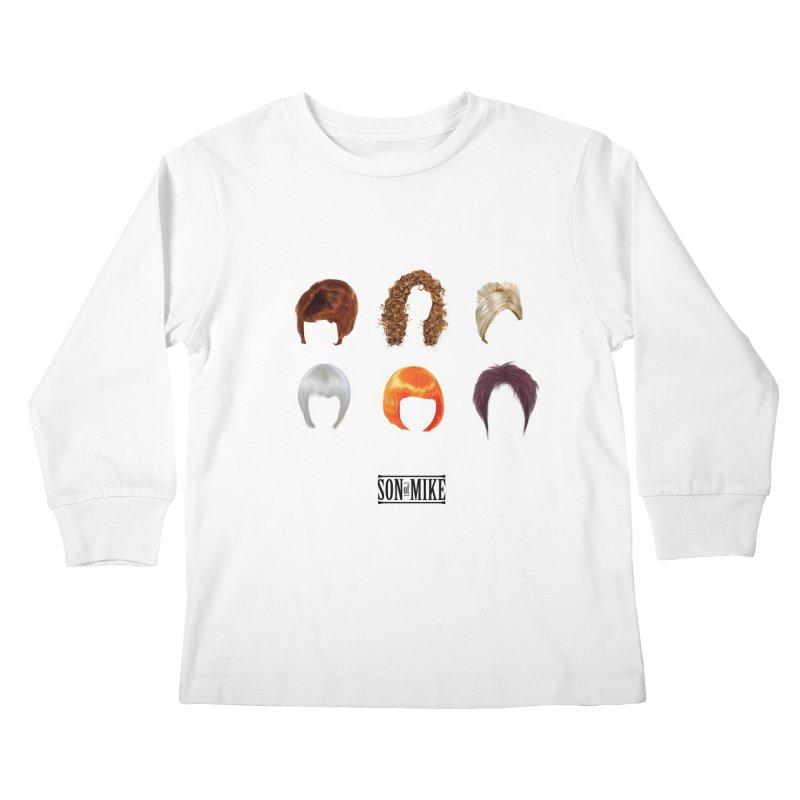 SOM Wigs Kids Longsleeve T-Shirt by Turkeylegsray's Artist Shop