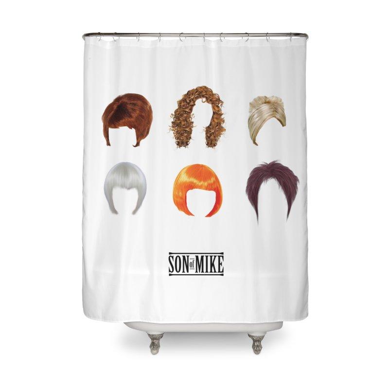 SOM Wigs Home Shower Curtain by Turkeylegsray's Artist Shop