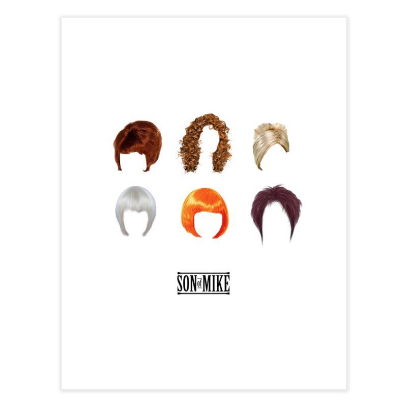 SOM Wigs Home Fine Art Print by Turkeylegsray's Artist Shop