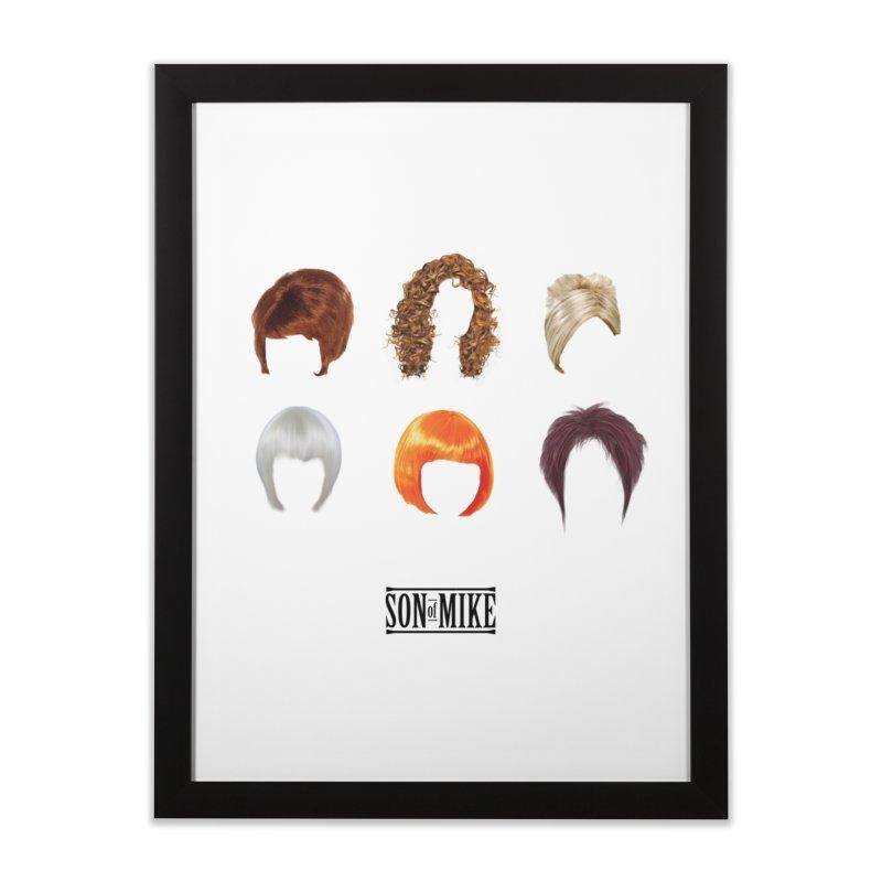 SOM Wigs Home Framed Fine Art Print by Turkeylegsray's Artist Shop