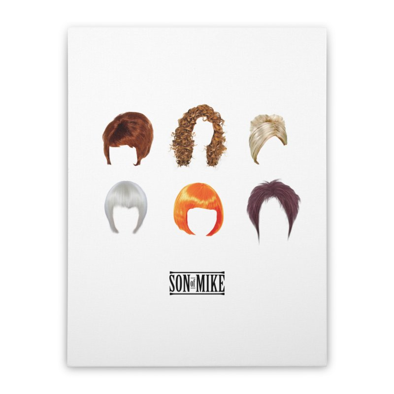 SOM Wigs Home Stretched Canvas by Turkeylegsray's Artist Shop