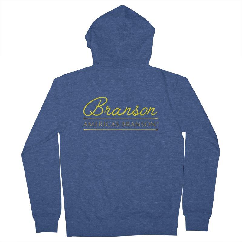 BRANSON: AMERICA'S BRANSON!  Men's Zip-Up Hoody by Turkeylegsray's Artist Shop