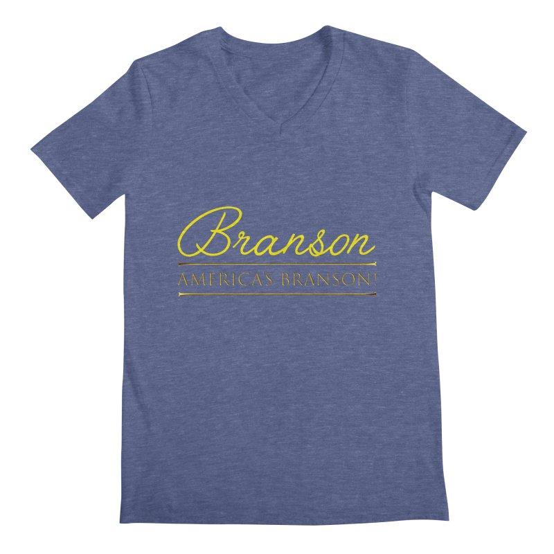 BRANSON: AMERICA'S BRANSON!  Men's V-Neck by Turkeylegsray's Artist Shop