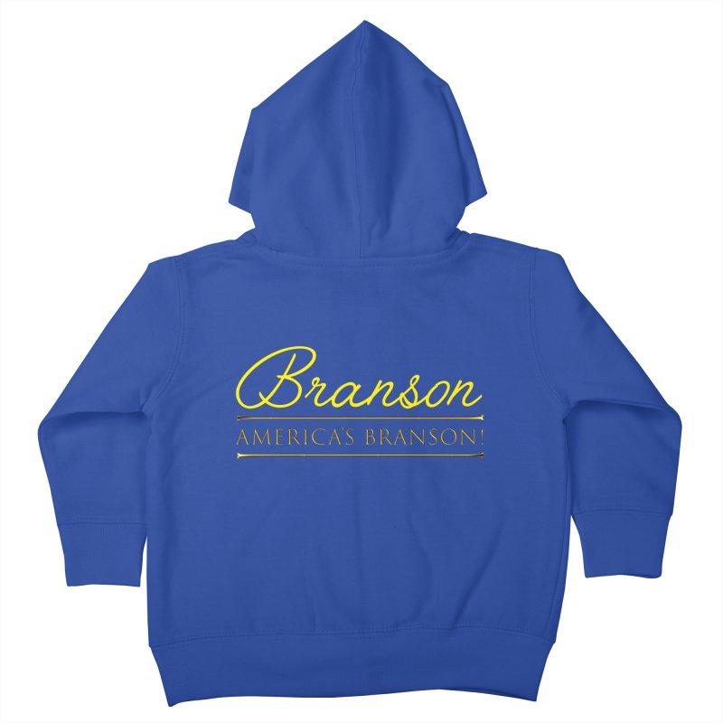BRANSON: AMERICA'S BRANSON!  Kids Toddler Zip-Up Hoody by Turkeylegsray's Artist Shop