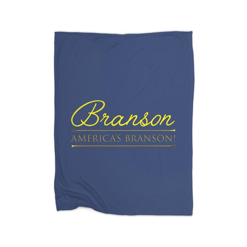 BRANSON: AMERICA'S BRANSON!  Home Blanket by Turkeylegsray's Artist Shop