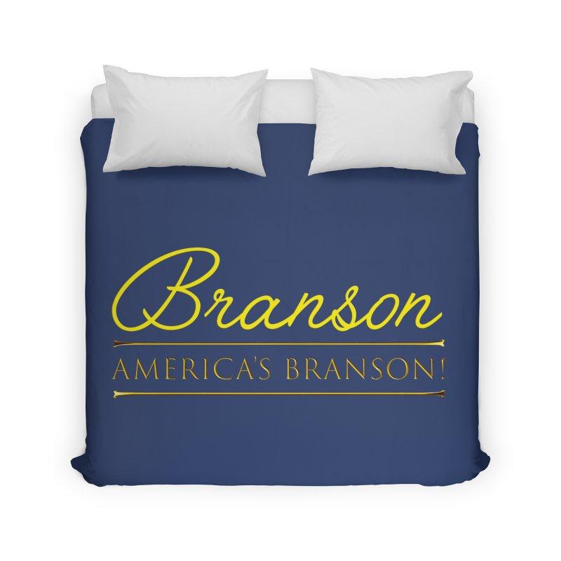 BRANSON: AMERICA'S BRANSON!  Home Duvet by Turkeylegsray's Artist Shop