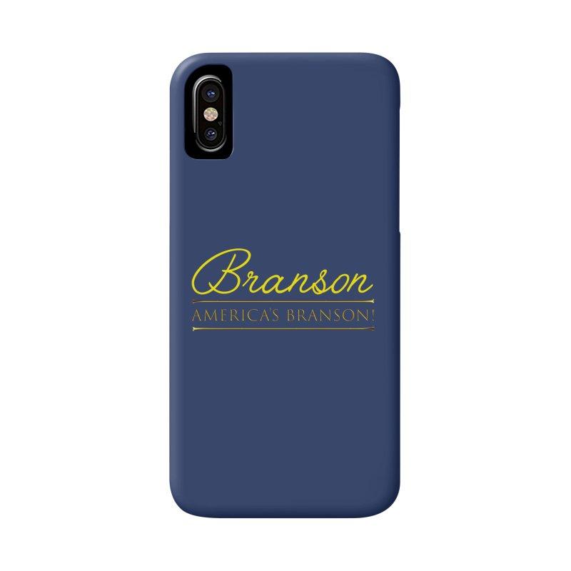 BRANSON: AMERICA'S BRANSON!  Accessories Phone Case by Turkeylegsray's Artist Shop