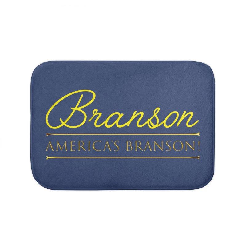 BRANSON: AMERICA'S BRANSON!  Home Bath Mat by Turkeylegsray's Artist Shop