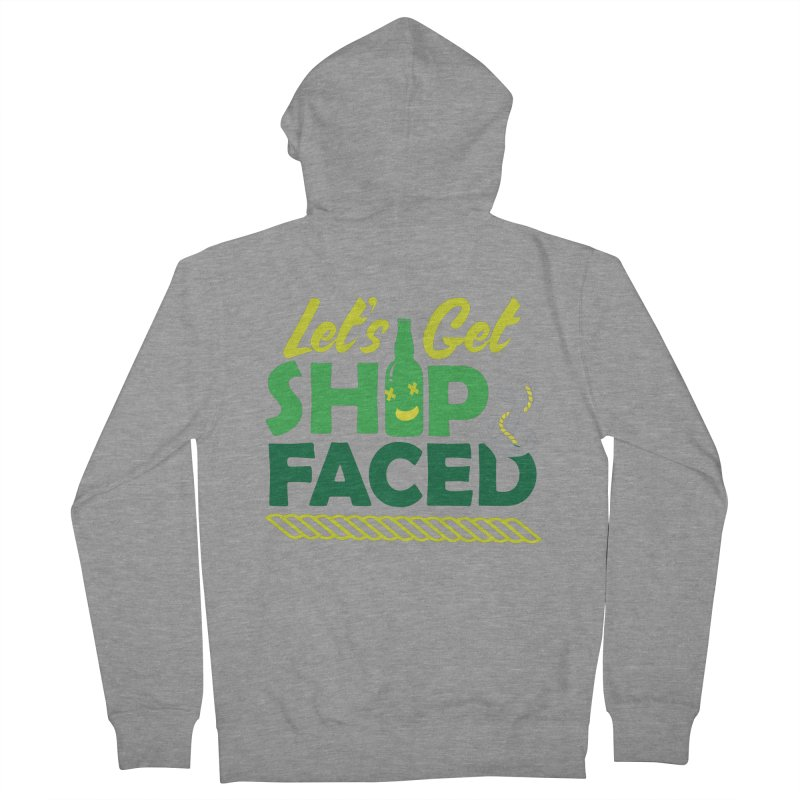 Let's Get Ship Face!  Women's Zip-Up Hoody by Turkeylegsray's Artist Shop