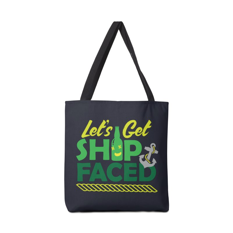 Let's Get Ship Face!  Accessories Bag by Turkeylegsray's Artist Shop