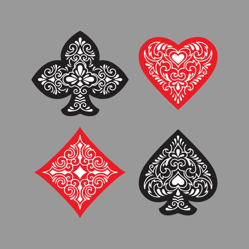 Playing Card Suits None  by Turkeylegsray's Artist Shop