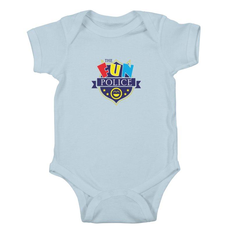 ThE FuN PoLiCE!!! Kids Baby Bodysuit by Turkeylegsray's Artist Shop