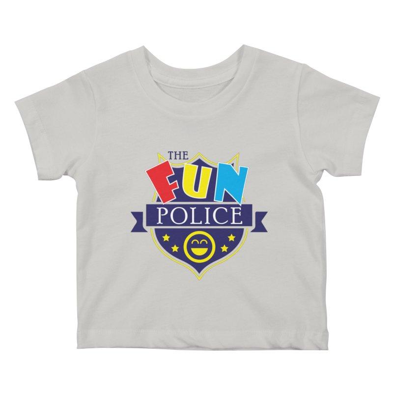 ThE FuN PoLiCE!!! Kids Baby T-Shirt by Turkeylegsray's Artist Shop