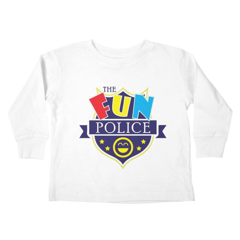 ThE FuN PoLiCE!!! Kids Toddler Longsleeve T-Shirt by Turkeylegsray's Artist Shop