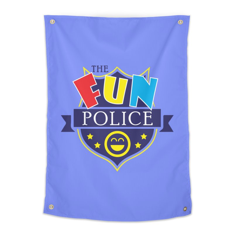 ThE FuN PoLiCE!!! Home Tapestry by Turkeylegsray's Artist Shop