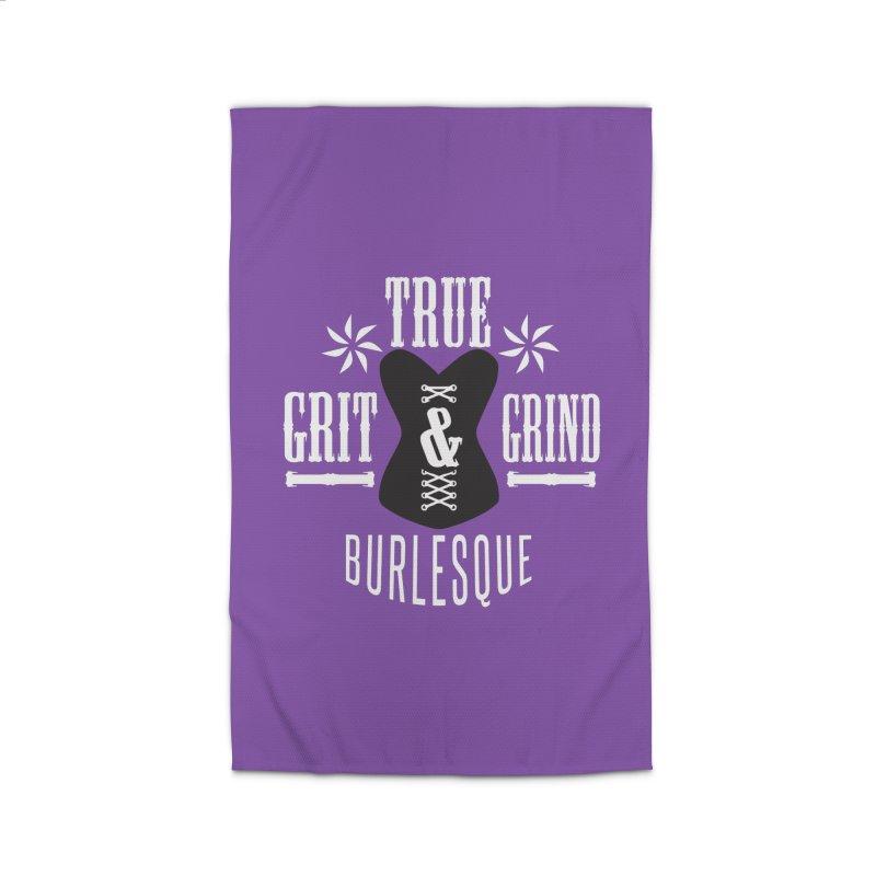 TRUE GRIT & GRIND BURLESQUE Home Rug by Turkeylegsray's Artist Shop