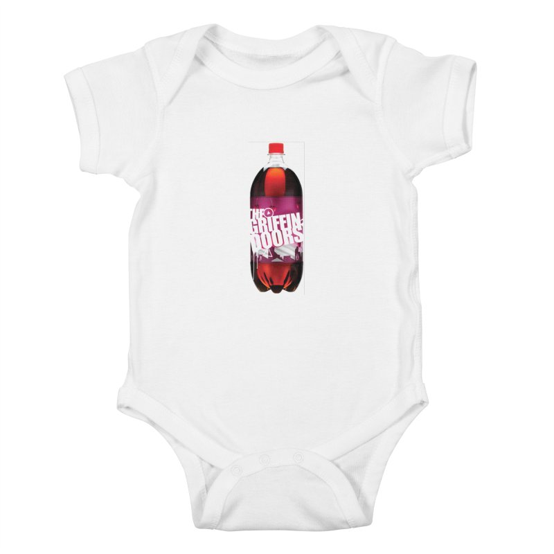 "THE GRIFFINDOORS ""Cherry Coke"" Kids Baby Bodysuit by Turkeylegsray's Artist Shop"