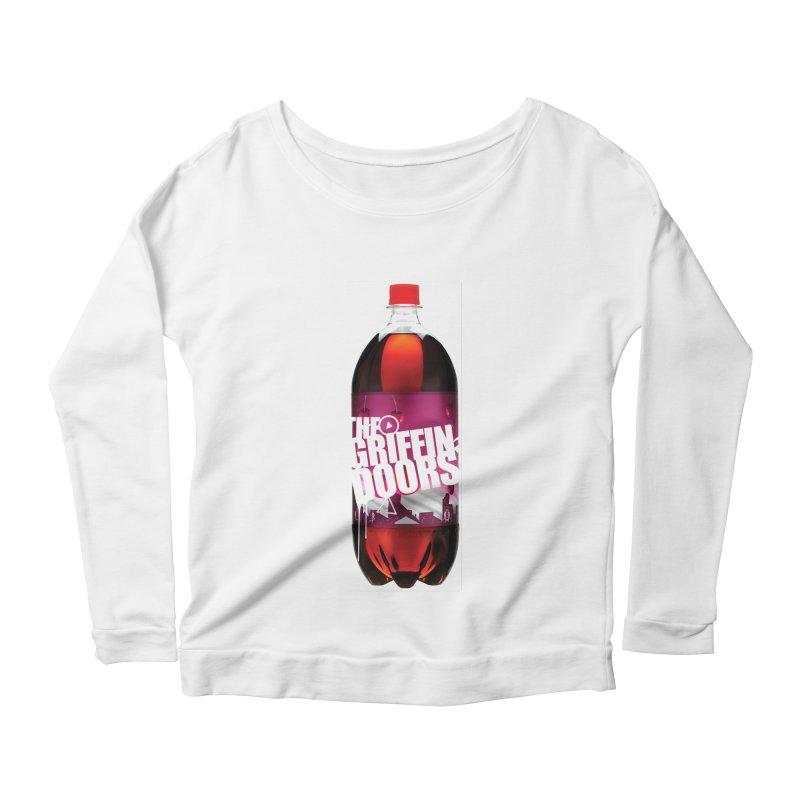"""THE GRIFFINDOORS """"Cherry Coke"""" Women's Longsleeve Scoopneck  by Turkeylegsray's Artist Shop"""
