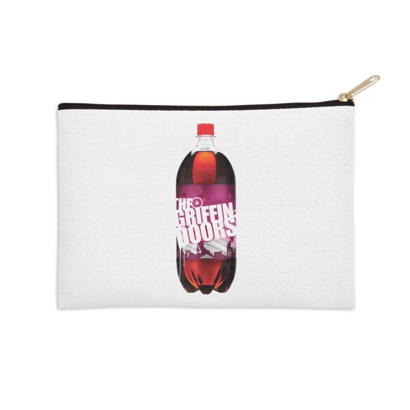 "THE GRIFFINDOORS ""Cherry Coke"" Accessories Zip Pouch by Turkeylegsray's Artist Shop"