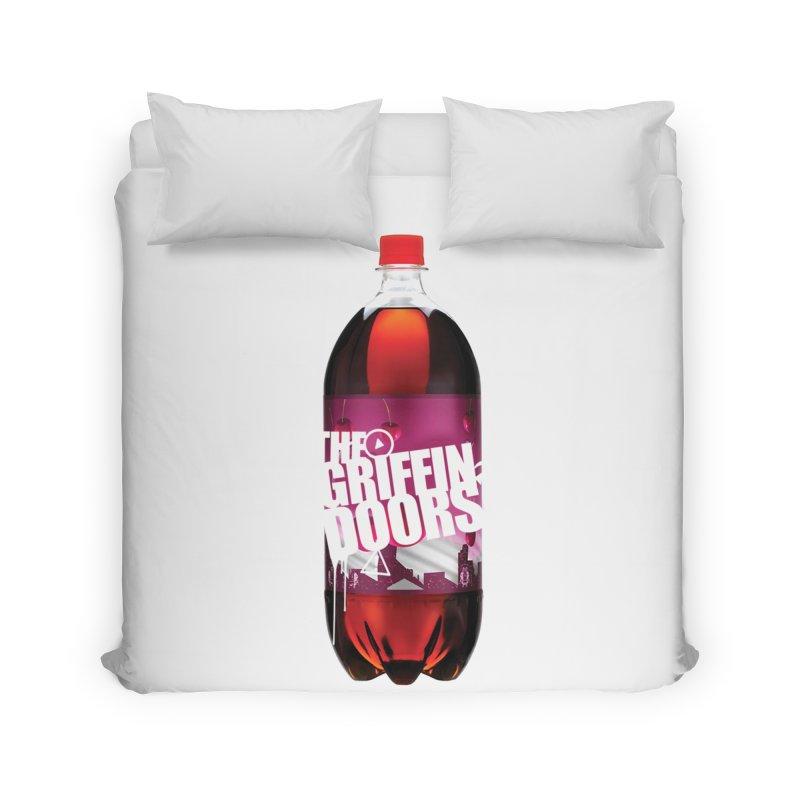 "THE GRIFFINDOORS ""Cherry Coke"" Home Duvet by Turkeylegsray's Artist Shop"