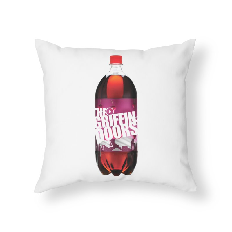 """THE GRIFFINDOORS """"Cherry Coke"""" Home Throw Pillow by Turkeylegsray's Artist Shop"""