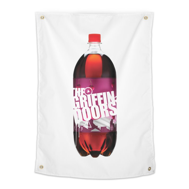 "THE GRIFFINDOORS ""Cherry Coke"" Home Tapestry by Turkeylegsray's Artist Shop"
