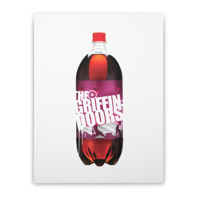 "THE GRIFFINDOORS ""Cherry Coke"" Home Stretched Canvas by Turkeylegsray's Artist Shop"
