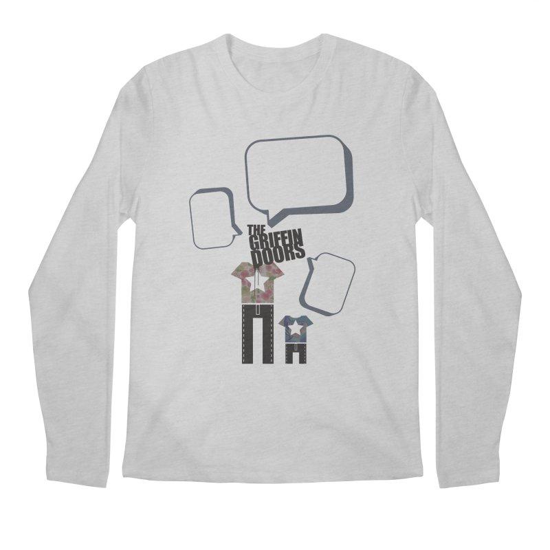 "THE GRIFFINDOORS ""Talk"" Men's Longsleeve T-Shirt by Turkeylegsray's Artist Shop"