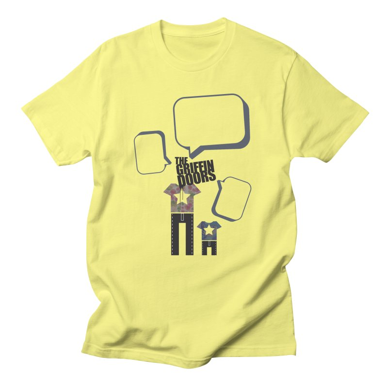 "THE GRIFFINDOORS ""Talk"" Women's Unisex T-Shirt by Turkeylegsray's Artist Shop"