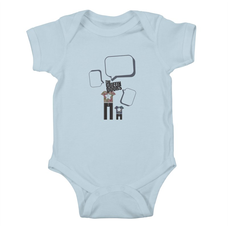 "THE GRIFFINDOORS ""Talk"" Kids Baby Bodysuit by Turkeylegsray's Artist Shop"