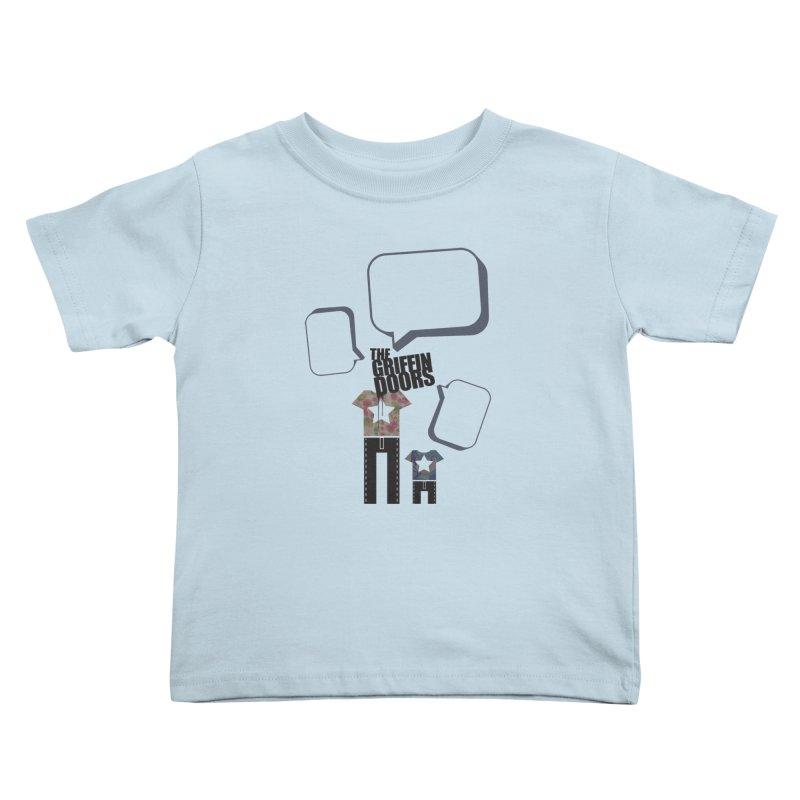 """THE GRIFFINDOORS """"Talk"""" Kids Toddler T-Shirt by Turkeylegsray's Artist Shop"""