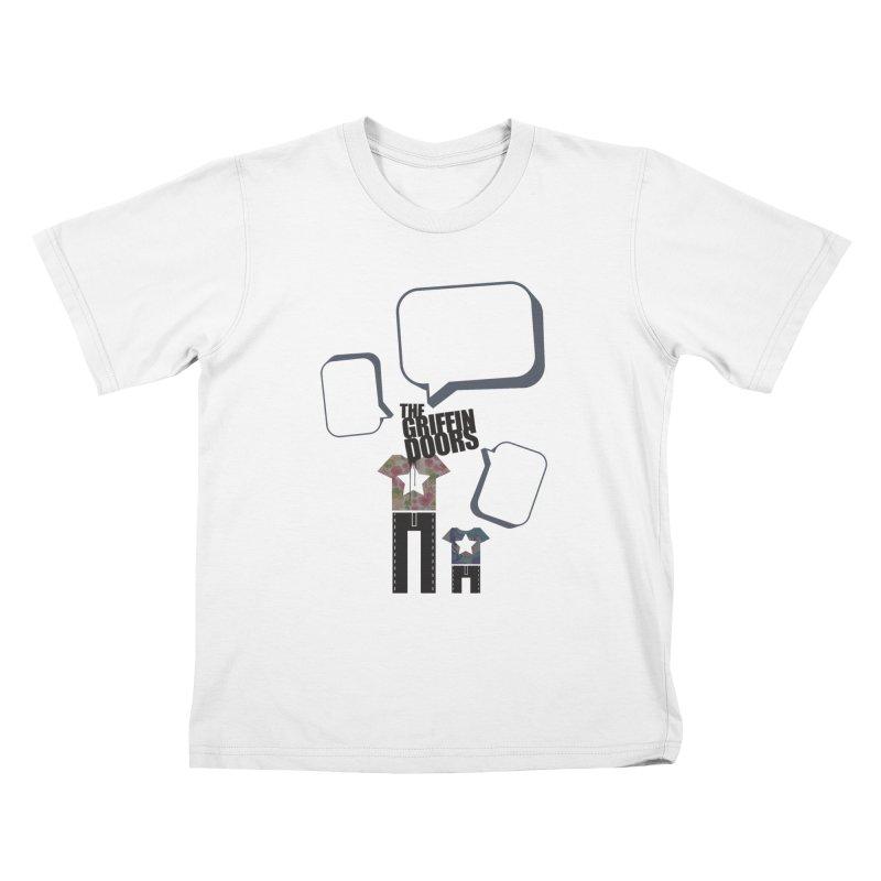 """THE GRIFFINDOORS """"Talk"""" Kids T-shirt by Turkeylegsray's Artist Shop"""