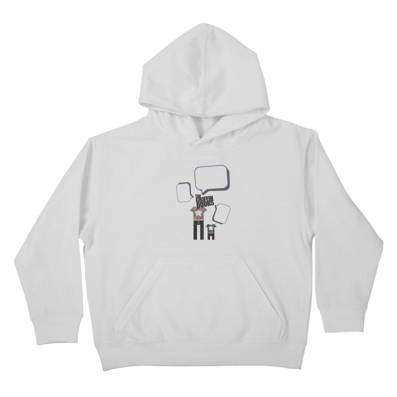 "THE GRIFFINDOORS ""Talk"" Kids Pullover Hoody by Turkeylegsray's Artist Shop"
