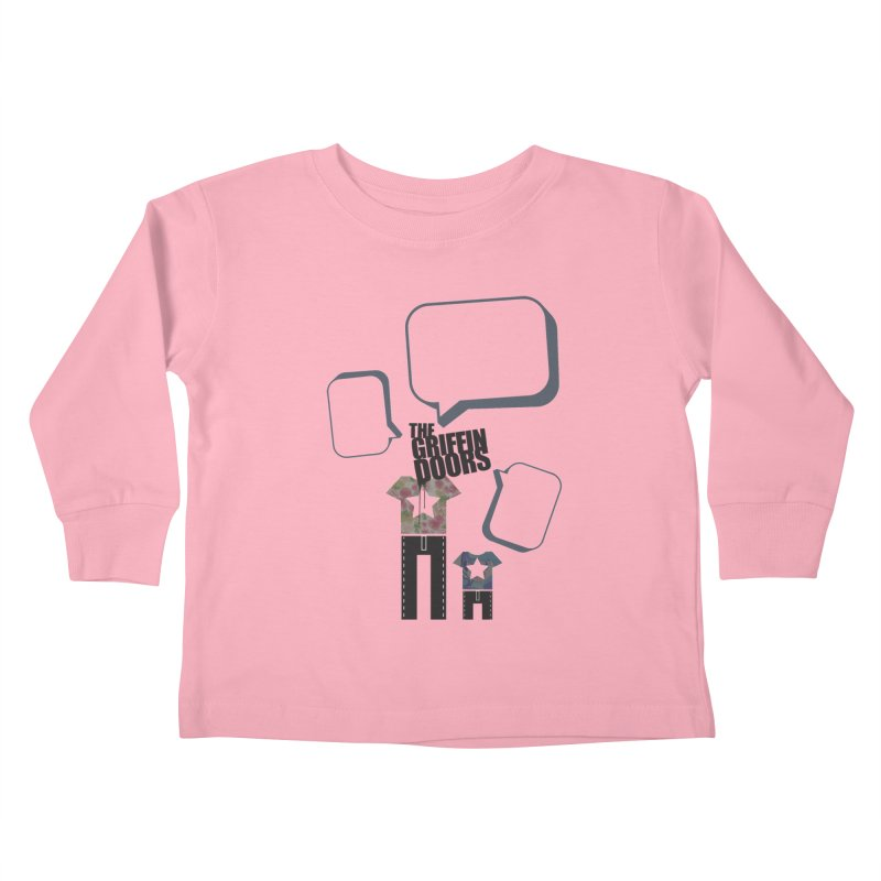 "THE GRIFFINDOORS ""Talk"" Kids Toddler Longsleeve T-Shirt by Turkeylegsray's Artist Shop"