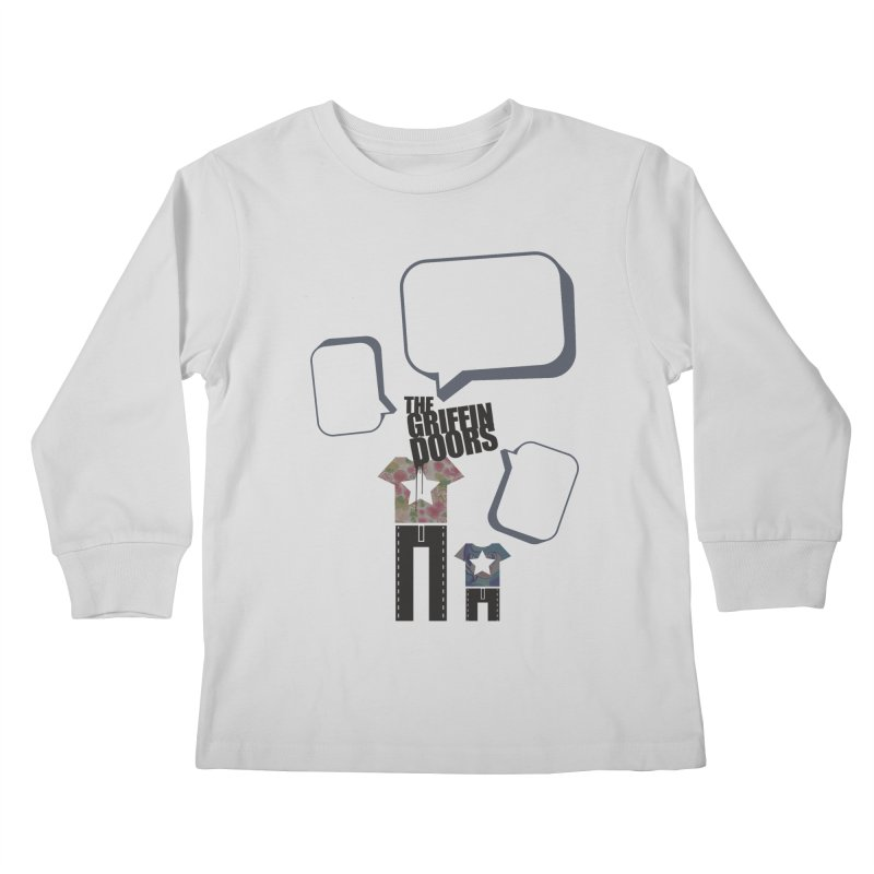"THE GRIFFINDOORS ""Talk"" Kids Longsleeve T-Shirt by Turkeylegsray's Artist Shop"